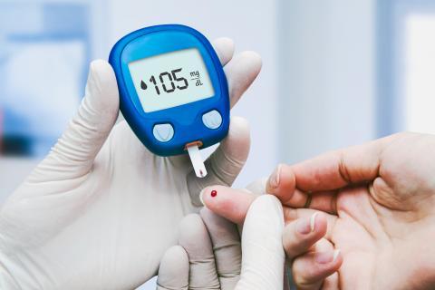prueba rapida de glucosa en sangre